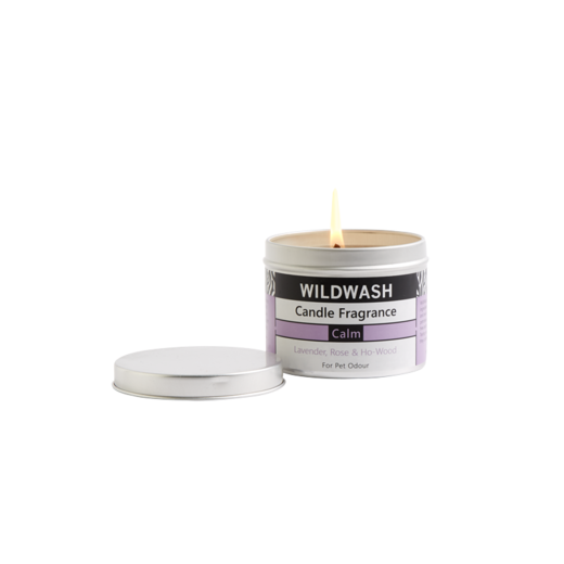 WildWash Candle in a Tin Calm