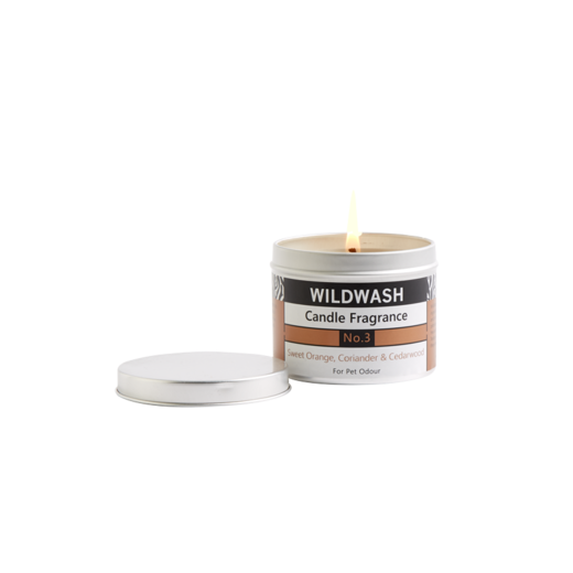 WildWash Candle in a Tin Fragrance No.3