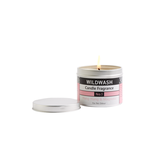 WildWash Candle in a Tin Fragrance No.1