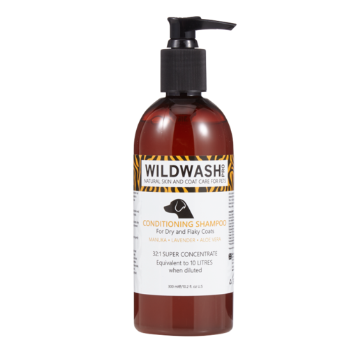 WildWash PRO Conditioning Shampoo for Dry and Flaky Coats 300ml